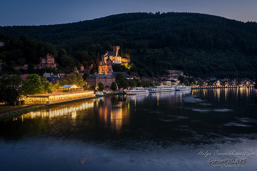Miltenberg zur Blauen Stunde ©DornenProjekt